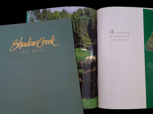 Shadow Creek Sales Book